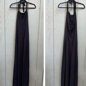 Flynn Skye Halter Maxi Dress Black NWT